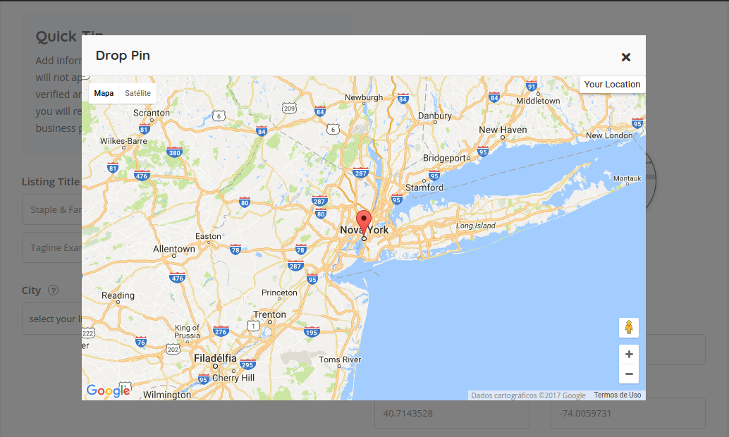 How the Drop-pin work on Maps? – ListingPro Doentation Drop Pin Maps on pin your travels on a map, pin location sheets, print your own map, pin iphone maps clear blue, pin map with locations software, pin locations on a map, make your own map,